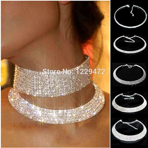 Braut Collier by Diamante Choker Necklace Reviews Shopping