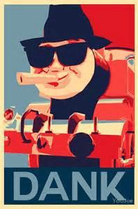 Thomas The Tank Duvet Quot Thomas The Dank Engine Quot Posters By Yolojoe Redbubble