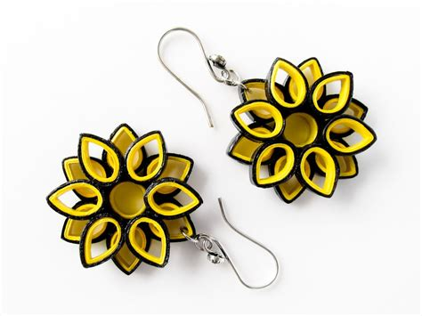 Paper Jewellery - beautiful easy paper quilling jewellery designs