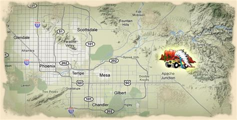 apache trail map location apache trail tours apache trail tours