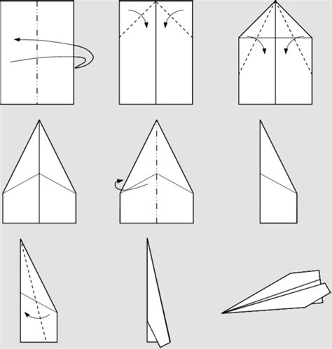Different Ways To Make Paper Airplanes - how to make different types of paper planes 28 images