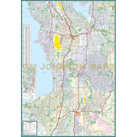 seattle map kent renton auburn kent federal way washington