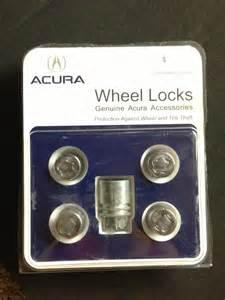 Acura Wheel Lock Key Fs Genuine Acura Lug Nuts Wheel Locks And Key