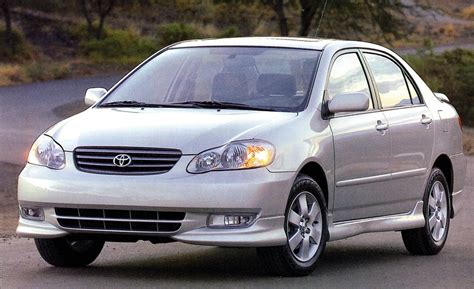 Honda Immobilizer Sticker by 2003 Toyota Corolla Road Test Review Car And Driver