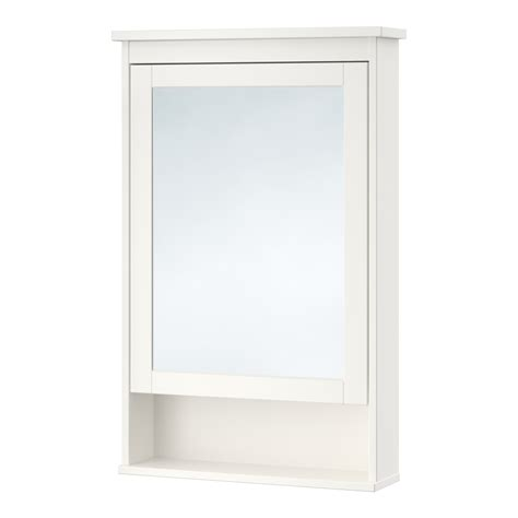 hemnes mirror cabinet with 1 door white 63x16x98 cm ikea