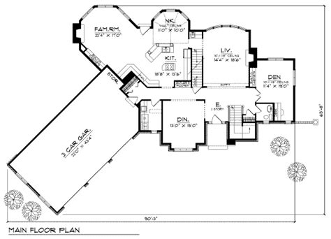 home plans homepw76585 3 677 square feet 4 bedroom 3 european style house plan 4 beds 3 50 baths 3511 sq ft