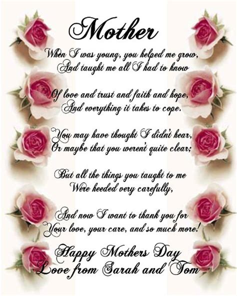 spanish mothers day poems 35 happy mothers day quotes with images happy mothers