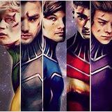 One Direction Superheroes Tumblr   640 x 630 jpeg 69kB