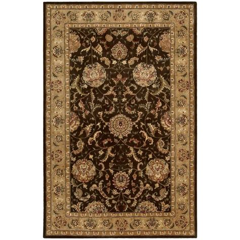 nourison 2000 brown 5 ft 6 in x 8 ft 6 in area rug