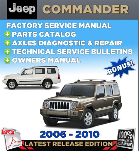 service manual 2008 jeep commander owners manual pdf jeep commander xk 2006 2007 2008 2009 jeep commander xk 2006 2010 factory oem service repair workshop shop manual ebay