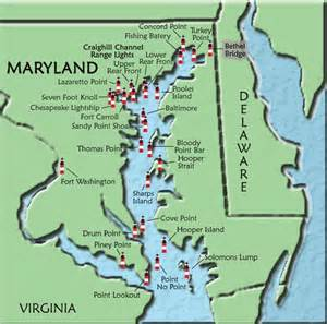 where is maryland on the map of the united states maryland map