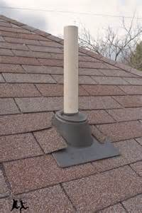cutting a in your roof installing a vent pipe diy
