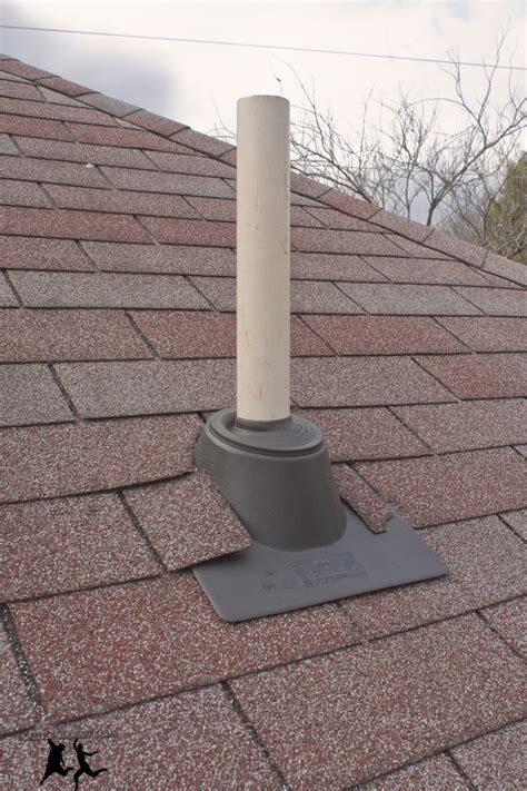 house roof vents cutting a hole in your roof installing a vent pipe diy old house crazy