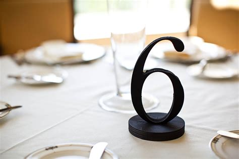 Wedding Table Numbers by 1920s Speakeasy Style Wedding Table Numbers For By