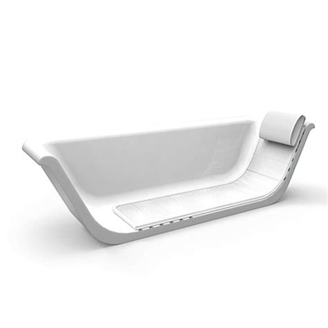 bathtub lounger buy aerocore in tub lounger with pillow from bed bath