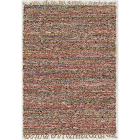 Home Decor Area Rugs by Linon Home Decor Verginia Berber Multi 5 Ft X 8 Ft Area
