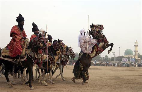 Koko Al Tribal Saladin Black the durbar festival in nigeria bino and fino