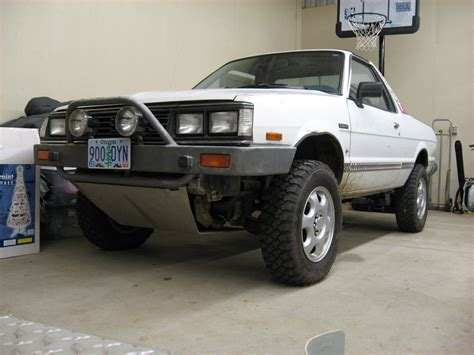 1986 subaru brat lifted subaguru 1986 subaru brat specs photos modification info