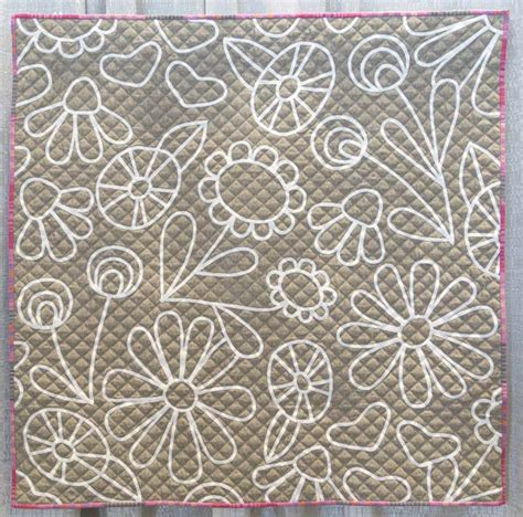 flower doodle quilt pattern flower doodle by neill 2015 the modern quilt guild
