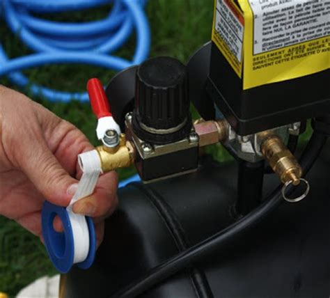 upholstery air compressor set up an air compressor for your staple gun modhomeec