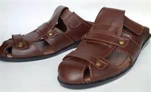 Cellyno Sandal Pria Kulit Sapi Asli Murah Berkualitas sandal casual kulit asli sandal pria kulit asli sedia