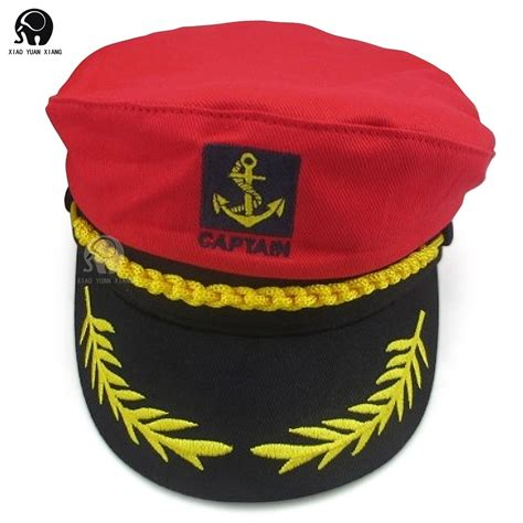 How To Make A Captain Hat Out Of Paper - ship navy officer yacht skipper captain hat cap costume