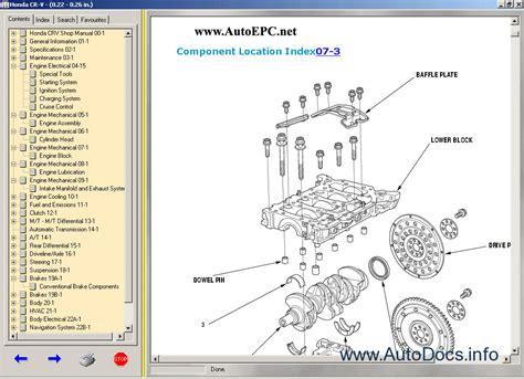 free download parts manuals 2006 honda cr v parking system honda cr v 1997 2000 2002 2006 service manual repair manual order download