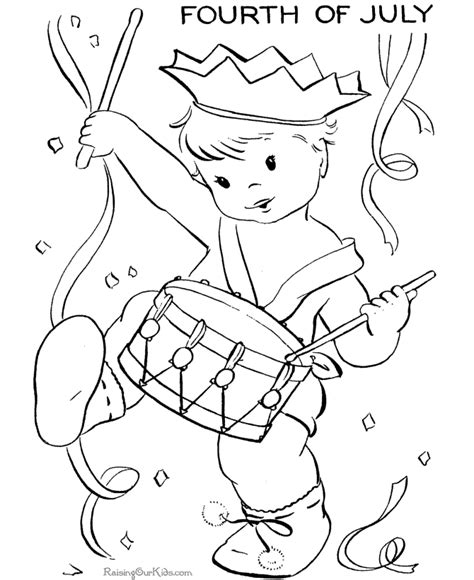 july 4th coloring pages printable free 4th of july for kids coloring pages