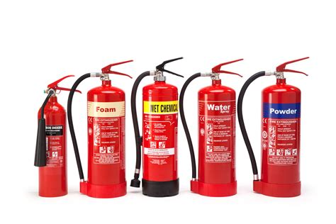 extinguisher 101 different types of extinguishers