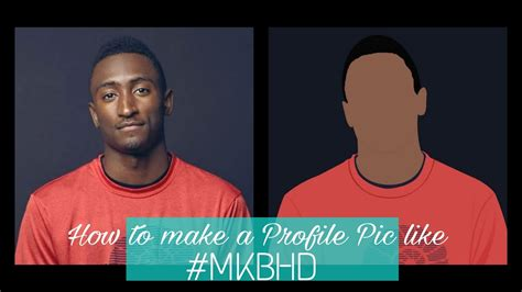tutorial vector picsart picsart how to make a dp like mkbhd vector art