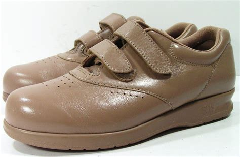 sas shoes for sas shoes womens 7 5 m b bone velcro loafers oxfords tripad