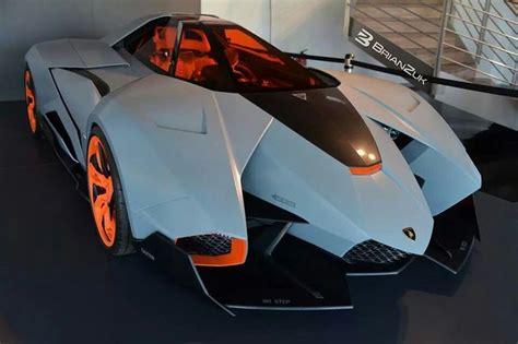 One Seater Lamborghini Egoista by Lamborghini Egoista One Seater Car Cars