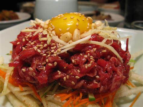 berburu makanan  gwanjang market wisata korea part