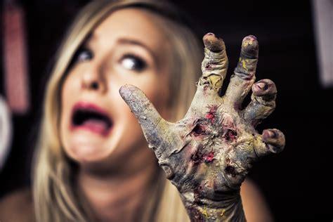 tutorial makeup halloween 2015 classic zombie hand halloween makeup tutorial ellimacs sfx