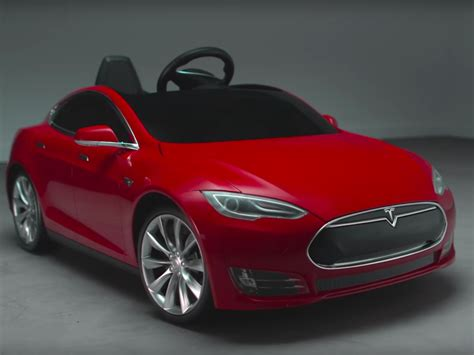 Mini Tesla There S Now A Tesla Model S For To Drive