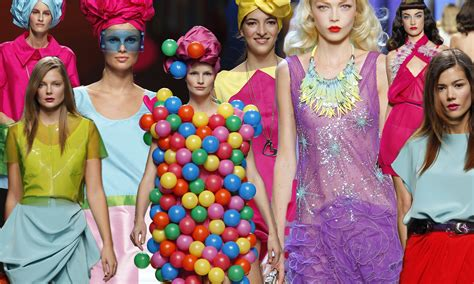 mode color mode et maquillage color block la polychromie chasse la