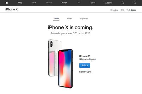 apple singapore iphone x iphone x and iphone 8 official price and pre order dates
