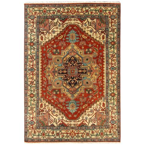8 x 6 rugs size 6 01 quot x 8 11 quot heriz wool rug from india