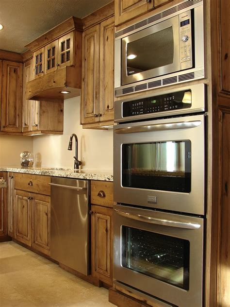 kitchen cabinet for wall oven oven and microwave and alder kitchen cabinets