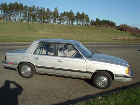 1985 dodge aries se k car city