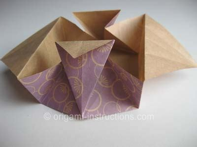Origami Flat Box - origami tato folding how to fold a origami