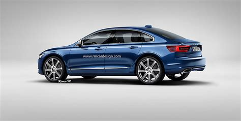 Volvo S40 2018 by 2018 Volvo S60 Rendered Photos 1 Of 3