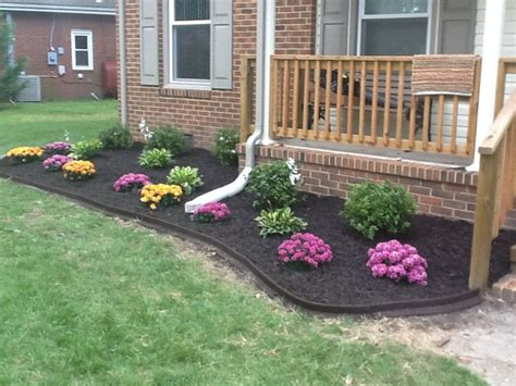 fall flower bed garden ideas pinterest