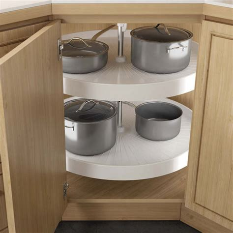how to choose a corner cabinet lazy susan for your kitchen lazy susans hafele 2 shelf full round revolving corner