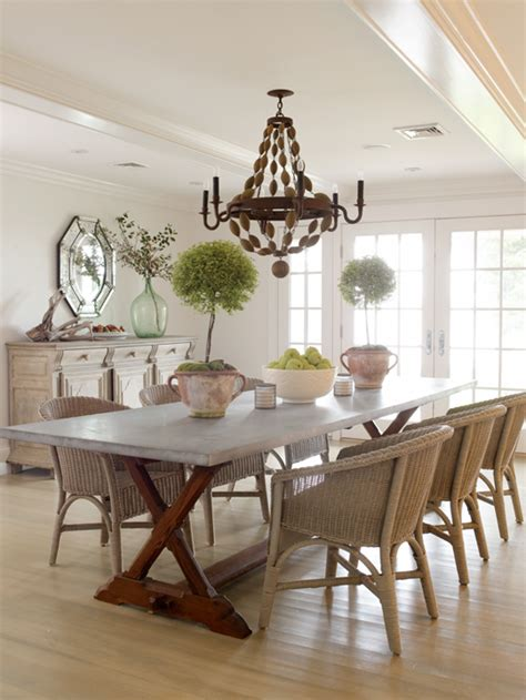 wicker dining chairs cottage dining room orrick