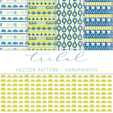 tribal pattern vector free download tribal patterns collection vector free download