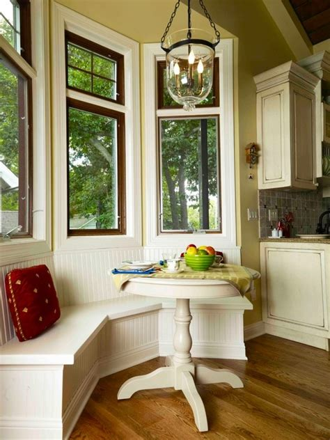 40 Cute And Cozy Breakfast Nook D 233 Cor Ideas Digsdigs Kitchen Nook Curtains