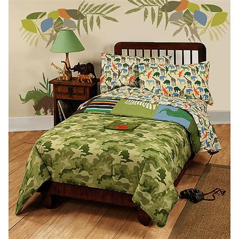 safari comforter disney safari kid s comforter set walmart com