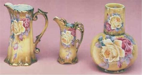 Ceramic Tall Vases Nippon Reproductions Patterns And Marks
