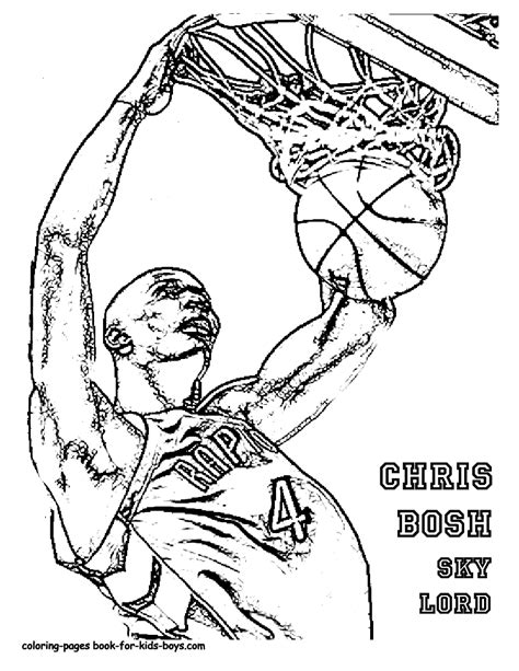 Coloring Pages Of Basketball Players Of The Nba | big boss basketball coloring pictures basketball players